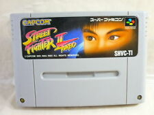 Super Famicom STREET FIGHTER II 2 TURBO Nintendo Video Game Cartridge Only sfc