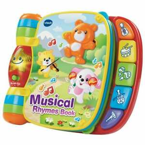 vTech Baby Interactive Musical Rhymes Book 6 Classic Rhymes - Sound & Music