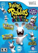 Raving Rabbids: Party Collection - Nintendo  Wii Game