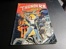 T.H.U.N.D.E.R. AGENTS #1 ORIGINAL SILVER AGE KEY COMIC !!!!! SEE MY OTHERS!
