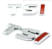 3D RED 1.5T 1.8T TSI Rear EMBLEM LOGO CHROME BADGE TSI STICKER DECAL