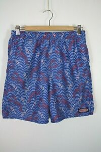 Vineyard Vines Boy's Lobster Print Swim Trunks Missing Drawstring XL 18