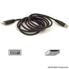 Belkin Pro Series USB2.0 Extension Cable 6ft (1.8m) Type-A to Type-A - Black