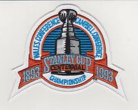 1993 NHL Stanley Cup Logo Jersey Patch Los Angeles Kings Vs Montreal Canadiens