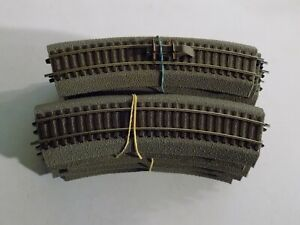 ROCO, 20pcs R2 CURVED TRACKS, SCALE HO LOT1