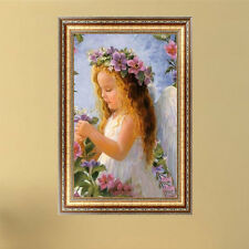 Cute 5D Angel Girl Diamond Painting DIY Embroidery Cross Stitch Kit Home Decor