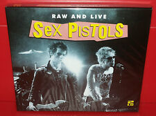 2 CD SEX PISTOLS - RAW AND LIVE - SEALED SIGILLATO