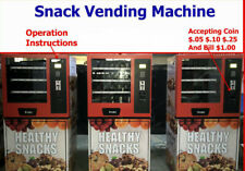 used snack vending machine
