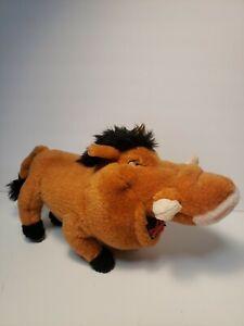 Applause Disney The Lion King PUMBA Warthog with Grub Bugs  Plush