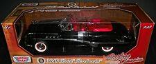 1949 BUICK ROADMASTER  CONVERTIBLE 1:18 SCALE DIECAST METAL CAR MOTORMAX NIB