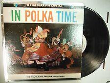 33 RPM Vinyl Polka King In Polka Time Palace PST-626 011915KME
