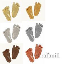 Grand 3-D bébé main pied fonte moulage empreinte kit cadeau choisir bronze or argent