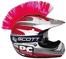 MOTORCYCLE QUAD ATV DIRT STREET BIKE HELMET MOHAWK PINK (Helmet Not Included)