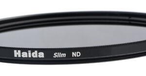 Haida Optical Slim ND Graufilter ND 2x, ND 4x, ND 8x, ND 64x, ND1000x