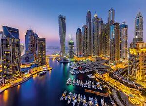 Puzzle Adulte : Ville De Dubai - 1000 Pieces - Clementoni Collection Pays