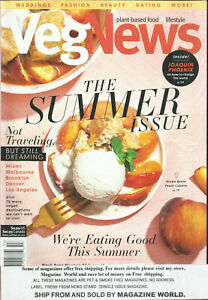 VEG  NEWS  MAGAZINE, THE SUMMER ISSUE      SUMMER, 2020