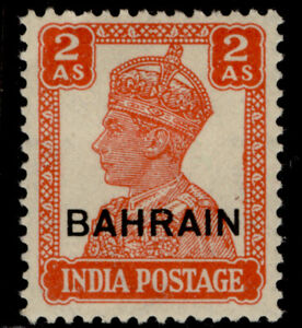BAHRAIN GVI SG44, 2a vermilion, M MINT.