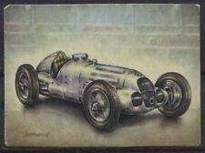 Mercedes-Benz M 125 Racing Car 1937 Vintage 1950s Dutch Trading Card No.161