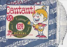 Bustina - Cantanti 1969 Panini - Vuota - Omaggio - aperta delicatamente
