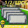 110V 50W 4500LM Led Flood Light Outdoor Floodlight Spot Lamp Garden Yard USA