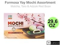 Japanese Snacks Foods Formosa Yay Mochi Assortment Taro Matcha Adzuki Red Bean