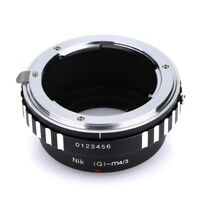 Camera Lens Adapter Ring for Nikon AI G D S Lens to Micro 4/3 M4/3 Mount