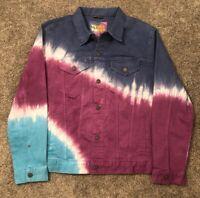 American Eagle AE x Young Money (Lil Wayne) Tie-Dye Denim Jacket Sz XL NEW RARE