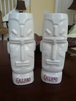 Galliano Liqueur Set of 2 Hawaiian Style Tiki Porcelain Mugs Spirit God