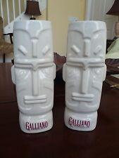 Galliano Liqueur Set of 2 Hawaiian Style Tiki Porcelain Mugs Spirit God