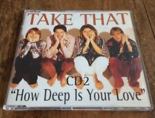 TAKE THAT - How Deep Is Your Love. CD Single. CD2.