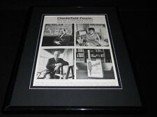 1958 Chesterfield Cigarettes Framed 11x14 ORIGINAL Vintage Advertisement