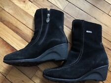 Pajar Winter Boots W. 8 Shearling, Black, Never worn, Wedge with grip sole