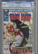 Iron Man 157  CGC 9.8 1982 Marvel The Spores from Outer Spacel