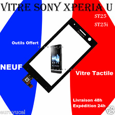 VITRE TACTILE RÉPARATION SONY XPERIA U ST25 ST25i + RÉPARER + OUTILS OFFERT NEUF