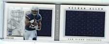 2013 PANINI PLAYBOOK #217 KEENAN ALLEN JERSEY BOOKLET ROOKIE RC CHARGERS 175/199