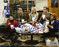 REPRINT - Cast BIG BANG THEORY #SN3 autograph signed photo