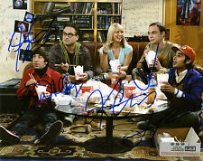 REPRINT - Cast BIG BANG THEORY 3 autograph signed photo