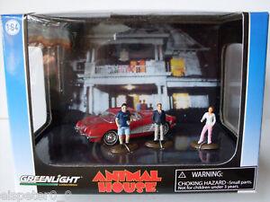 Chevrolet Corvette , Animal House, Greenlight Diorama 1:64