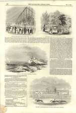 1844 Wreck Of The Waterman Steamer Off Hastings Red Deer Winning Chester Cup