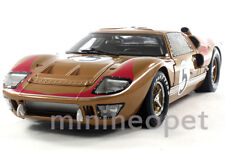 COLLECTIBLES 403 1966 66 FORD GT40 GT 40 MARK MK II 1/18 DIECAST GOLD # 5