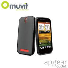 GENUINE MUVIT HTC ONE SV BLACK MINI GEL GLAZY MUSKI0160 PHONE CASE COVER RETAIL