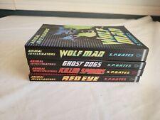 4 New Animal Investigators Pb Books Killer Spiders Ghost Dogs Wolf Man Red Eye