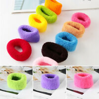 Wide  Gum  Ponytail Hair Holders  Hair Tie  Rubber Bands  Elastic Accessories