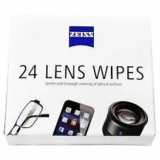 Zeiss Lens Cleaning Wipes - 24 Pack