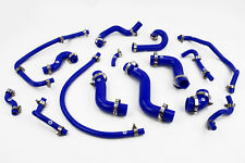 Silicone Coolant & Breather Hoses fit Mazda MX5 MK1 1.6 NA Stoney Racing Blue