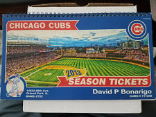 Chicago Cubs 2013 Season Ticket Book- Combo Plan