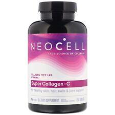 Neocell-Súper Colágeno + C, tipo 1 y 3 y Vitamina C X 250 Tabletas