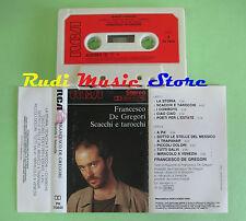MC FRANCESCO DE GREGORI Scacchi e tarocchi 1985 1 ITALY RCA no cd lp dvd vhs **