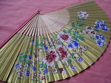 ANTICO VENTAGLIO DOCORATO ACCESSORI DONNA ANTIQUE OLD FAN OGGETTO DEPOCA VINTAGE