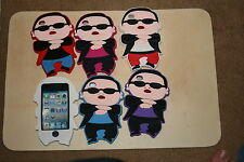IPOD TOUCH 4 Gangnam Style PSY Silicone Case Cover